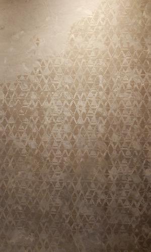 starbuksスターバックス店内壁面パターン