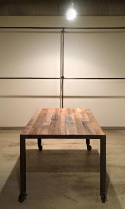 テーブル、ハンガーラック制作